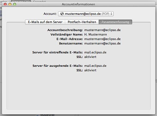 Apple Mail - Zusammenfassung